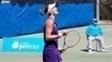 Bia  conquistou também o título de duplas no torneio australiano