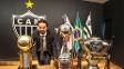 Daniel Nepomuceno, presidente do Atlético-MG, recebeu os outros representantes