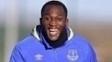 Romelu Lukaku durante treino do Everton: 24 gols na atual edição da Premier League