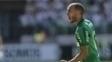 Mayke comemora gol marcado contra o Vitória no Allianz Parque