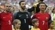 Pepe, Rui Patrício e Cristiano Ronaldo foram campeões da Eurocopa em 2016