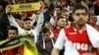 Torcida do Monaco mostrou solidariedade ao Borussia Dortmund