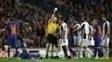 Neymar leva amarelo após confusão contra a Juventus