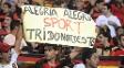 Torcedores comemoram o título do Sport na Copa do Nordeste sobre o Ceará