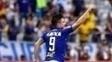 Willian comemora gol pelo Cruzeiro no último Brasileiro
