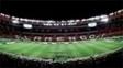 Mosaico da torcida do Flamengo antes da estreia na Libertadores no Maracanã