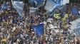 Cruzeiro não recebeu a taça oficial do Brasileirão, mas fez a festa mesmo assim