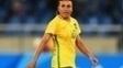 Marta fez o gol do Brasil no jogo