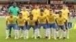 Jogadores da seleção sub-20 antes de amistoso em setembro do ano passado