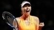 Sharapova voltou a aparecer no ranking da WTA