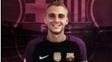 Cillessen havia postado foto com a camisa do Barça em seu Twitter