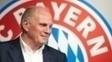 Uli Hoeness disse que o Bayern de Munique está fora do projeto