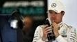 Rosberg ficou de olho nas informações referentes a Hamilton