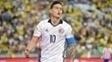 James Rodríguez, na partida entre Colômbia x Paraguai na Copa América