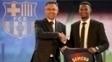 Nelson Semedo é apresentado no Barça