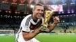 Lukas Podolski ganhou a Copa do Mundo de 2014
