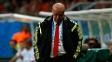 Del Bosque, técnico da Espanha, ficou abatido com goleada sofrida para a Holanda