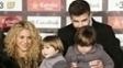 Pique Shakira Filhos Milan Sasha Barcelona 28/11/2016
