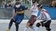 Silvio Velo, em ação pelo Boca Juniors, em clássico contra seu ex-time, o River Plate