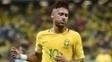 Neymar está de fora do duelo contra o Paraguai