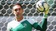 Fernando Prass Treino Palmeiras Allianz Parque 30/10/2014