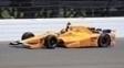 Alonso em ação em mais um dia de treinos para a Indy 500