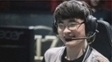Faker sorri durante grande final do MSI 2017
