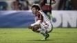 Willian Arão, na derrota do Flamengo para o San Lorenzo na Copa Libertadores