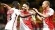 Falcao Garcia Comemora Gol Monaco Metz Campeonato Frances 11/02/2017