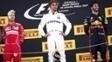 Hamilton Vettel Ricciardo Podio GP Espanha Formula 1 F1 14/05/2017