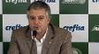 Paulo Nobre, presidente do Palmeiras, anunciou novo patrocinador no Palmeiras