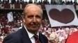 O técnico Giampiero Ventura na partida do Torino contra o Carpi