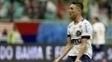 Juninho comemora gol em jogo na Fonte Nova