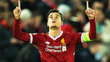 Philippe Coutinho Comemora Gol Liverpool Spartak Moscou Champions 06/12/2017