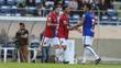 Jogadores do Paraná comemoram gol contra o ABC
