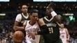 Westbrook não conseguiu triplo duplo contra os Bucks nesta temporada