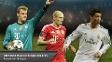 Neuer, Robben e Ronaldo estão na final do prêmio de melhor jogador da Europa