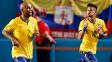 Neymar foi capitão e autor do gol do Brasil nesta sexta