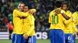Luis Fabiano, Robinho, Kaká e Michel Bastos defenderam o Brasil na Copa de 2010
