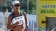 Erica Sena melhorou recorde sul-americano e ficou em terceiro lugar no Mundial