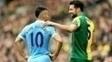 Aguero Manchester City Norwich Campeonato Ingles 12/03/2016