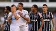 Alisson foi expulso no fim do primeiro tempo do clássico contra o Corinthians e chorou