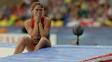 A felicidade de Isinbaeva contrastou com a tristeza da compatriota Anastasia Savchenko, que ficou na 5ª posição