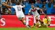 Gotze marcou o gol da Alemanha no segundo tempo da prorrogação