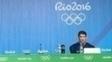 Após dias históricos, Phelps dá entrevista coletiva, seu último ato no Rio-2016