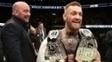 McGregor pegou emprestado o cinturão de Tyron Woodley