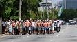 Torcedores da Mancha seguem juntos para protesto no CT do Palmeiras