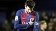 Pique Lamenta Barcelona Villarreal Campeonato Espanhol 08/01/2017