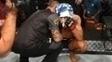 Aldo caiu no choro após ser nocauteado por McGregor