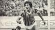 Renato Gaúcho brilho na final do Mundial de 1983, com dois gols contra o Hamburgo, dando o título ao Grêmio